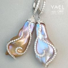 Luster is the magnificent luminosity which pearls are known for and judged by. Luster in pearls is caused by light traveling through translucent layers of nacre and reflecting back to the eye. The nacre's thickness, its degree of translucency and the arrangement of the overlapping nacre layers all contribute to luster. #pearlesrrings #yaeldesigns #luster