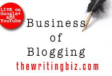 Learn more About The Writing Biz a videocast & podcast that helps writers manage and grow their business. http://thewritingbiz.com #writing #blogging
