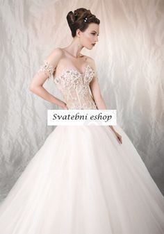 Best Click to Buy uc uc Sexy See in Bone Wedding Dresses Sweetheart Neck Puffy ue ue
