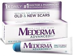 Mederma Scar Gels Pimple Treatment, Best Acne Treatment, Homemade Acne Treatment, Acne Treatments, Scar Removal Cream, Scar Cream, Acne Scar Removal, C Section Scars, Advanced Skin Care