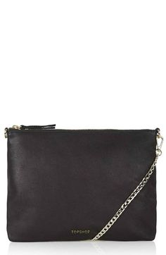 Topshop Leather Crossbody Bag available at #Nordstrom