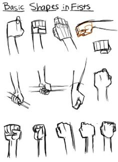 This is so helpful with drawing fists!