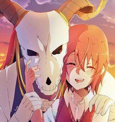 Elias and Chise Anime Couples, Cute Couples, Kore Yamazaki, Anime Manga, Anime Art, Elias Ainsworth, Chise Hatori, Sailor Moon, The Ancient Magus Bride