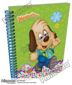 Cuaderno Pasta Dura Maskotitas http://escolar.papelesprimavera.com/product/cuaderno-pasta-dura-maskotitas-primavera-copy/