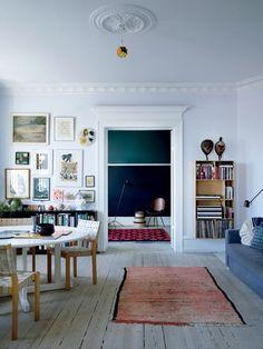 Articles — File Under Pop Interior Exterior, Home Interior Design, Interior Decorating, Home Living Room, Living Room Decor, Living Spaces, Style At Home, Scandinavian Interior, Scandinavian Style