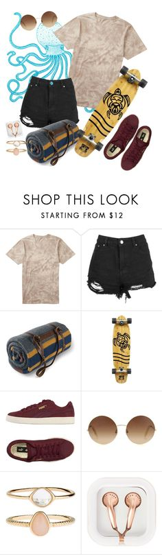 """""""Drop in the Ocean"""" by lovekaitlin ❤ liked on Polyvore featuring Billabong, Boohoo, Pendleton, Body Glove, Puma, Victoria Beckham, Accessorize, claire's, sunglasses and skate"""
