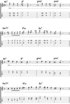 blue bossa pat martino solo transcription guitar tab. Black Bedroom Furniture Sets. Home Design Ideas