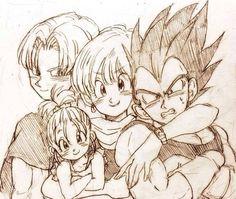 ♥♥ Vegeta's family ♥♥ #Manga - Visit now for 3D Dragon Ball Z compression shirts now on sale! #dragonball #dbz #dragonballsuper