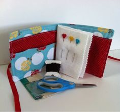 A Farm Wife's Journal: Needle Case Tutorial