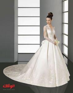 صور فساتين زفاف 2013 جديدة