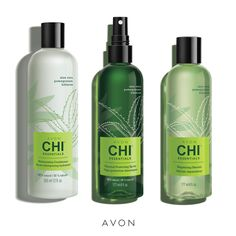 Have a great hair day, every day with Avon Chi Essentials - our new partner to bring you a unique blend of certified organic botanicals with aloe vera, pomegranate, hibiscus and other nutrient-rich ingredients. Avon Products, Chi Hair Products, Beauty Products, Lush Products, Bath Body Works, Bath And Body, Vitamin A, Perfectly Posh, Etude House