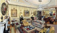 Clarence House Drawing Room -- from Will Topley's interiors attract aristocratic clientele   Sunday Guardian