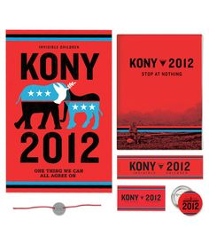 Stop Kony 2012. Such a horrible man