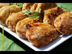 Chiftelute din legume fara oua la cuptor - YouTube