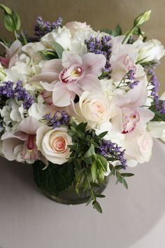 Some soft pastel florals to get you over the hump! Order by to have a custom arrangement delivered locally TODAY! Funeral Arrangements, Orchid Arrangements, Good Shabbos, Cymbidium Orchids, Flower Delivery, Favorite Color, Florals, Wedding Flowers, Floral Wreath