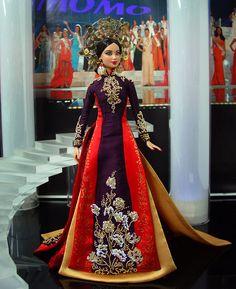 Miss Vietnam Barbie Doll 2013