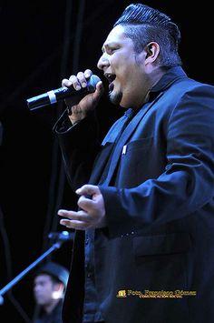 "Nezahualcóyotl, Méx. 16 Agosto 2013. Big Javy, vocalista de ""Inspector"", en Neza."