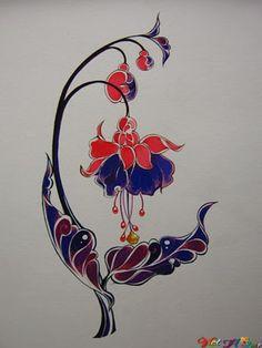 Nhiều cách vẽ hoa lá cách điệu