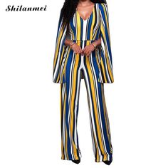 Sexy Bodysuit Women Long Summer Jumpsuit Backless Printed Striped Body Femme Jumpsuits for Women 2017 Monos Cortos De Mujer Suit  #cool #pretty #beautiful #instastyle #dress #instalike #love #swag #fashionista #sweet