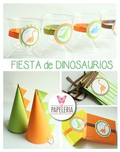 Fiesta de dinosaurios  Encuentralos en: https://www.facebook.com/lapapeleriatienda