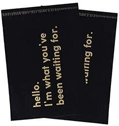 Amazon.com : RUSPEPA 10x13 Inch Poly Mailers Shipping Bags Business Text Printed Black Poly Mailers 2.3 Mil Heavy Duty Self Seal Mailing Envelopes - 100 Pack : Office Products Cheap Online Clothing Stores, Shipping Envelopes, Business Stickers, Mailing Envelopes, Packaging Supplies, Round Labels, Support Small Business, Gold Print, Business Card Size