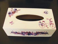 decoupage on a wooden box♥ I LOVE IT♥