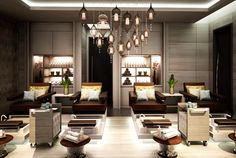 Beauty Room for luxury manicures and pedicures. #heavenlyspabali