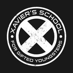 Awesome 'Xavier%27s+School' design on TeePublic!x-men, wolverine, xmen, logan, mutant, uncanny-xmen, magneto, xavier, superhuman, marvel, marvel-comics, comic-book, superheroes, charles-chavier, avengers, comic, school, xavier's-school