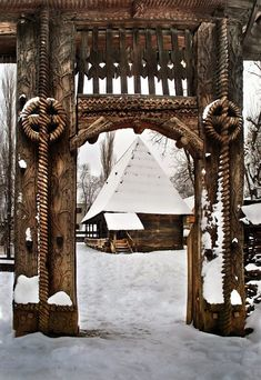 Dimitrie Gusti National Village Museum in Municipiul București, Romania Bulgaria, Wonderful Places, Beautiful Places, Romania People, Visit Romania, Romania Travel, Little Paris, Wooden Gates, Eastern Europe