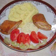 Fotografie receptu: Palačinky plněné šunkou a sýrem
