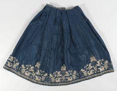 Petticoat c1725-75 Norway Damask Acquisition Gave 1969 Identifier OK-1969-0133 http://www.nasjonalmuseet.no/