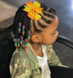 These hairdos are fairly easy and are great for newbies, fast and easy toddler hair styles. Little Girls Natural Hairstyles, Toddler Braided Hairstyles, Black Kids Hairstyles, Cute Little Girl Hairstyles, Little Girl Braids, Baby Girl Hairstyles, Braids For Kids, Girls Braids, Protective Hairstyles