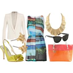 Summer Colorful Wonderful - I want a reason to wear this! #Polyvore #summer #colorful #dreamcloset