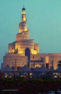 Beautiful Mosque - Qatar