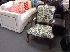 Accent Chair - Like new condition, we have a pair of these chairs.  Item 922-50. Price $500.00 each.     - http://takeitorleaveit.co/2015/08/05/accent-chair-2/