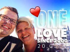 ONE LOVE! #anniversary @pikkulepinkainen #t #since2000 #blessings #newyork #brooklyn