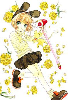 card captor sakura Part 4 - - Anime Image Cardcaptor Sakura, Sakura Card Captor, Manga Art, Manga Anime, Anime Art, Book Illustration, Botanical Illustration, Yandere, Dreamworks