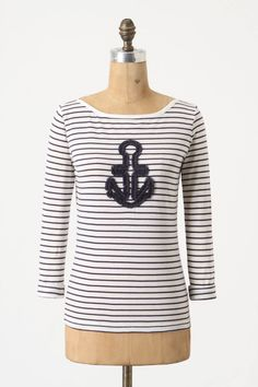 I love anchors. and Anthropologie.