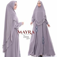 Hijab hijab u pesta Hijab Gown, Hijab Style Dress, Abaya Fashion, Modest Fashion, Fashion Dresses, How To Wear Hijab, Mother Daughter Fashion, Dress Pesta, Abaya Designs