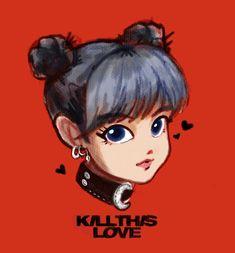 This drawing killed me Kpop Drawings, Love Drawings, Easy Drawings, Kpop Anime, 5 Anime, Fan Art, Blackpink Poster, Lisa Blackpink Wallpaper, Kim Jisoo