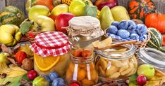 Preservation of Fruits and Vegetables jigsaw puzzle Puzzle Of The Day, Fruits And Vegetables, Preserves, Jigsaw Puzzles, Cheese, Retro, Food, Play, Drink