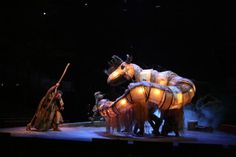 The tempest - puppetry