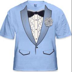 269f1bdb8 Tuxedo tshirt from bewild.com Groomsmen Outfits, Tees, Shirts, Tuxedo T  Shirt
