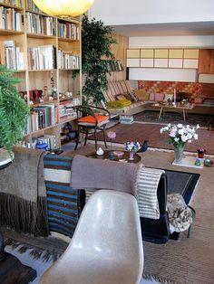 Eames House Living Room, 1949. LA County Museum