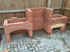 Cool DIY Backyard Brick Barbecue Ideas