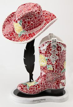 American Beauty boot & hat Joni Carr studio