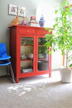 Redwhite|bride: Dressing Up Ikea Hemnes Cabinet
