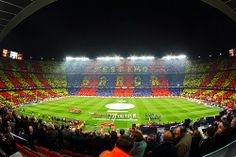 I'm a huge Barcelona fan so a visit to their stadium 'Camp Nou' is a must