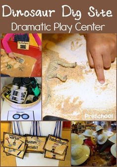 Dinosaur Dramatic Play - Dig Site at Play to Learn Preschool