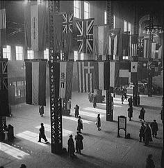 Union Station, Chicago, during WW2.
